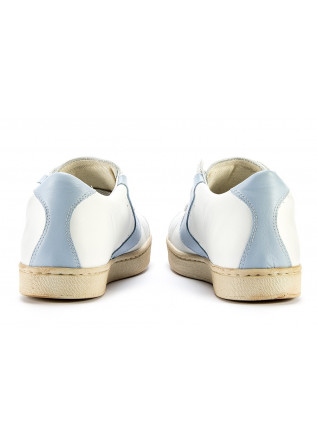 WOMEN'S SHOES SNEAKERS HANDMADE WHITE / LIGHT BLUE VALSPORT