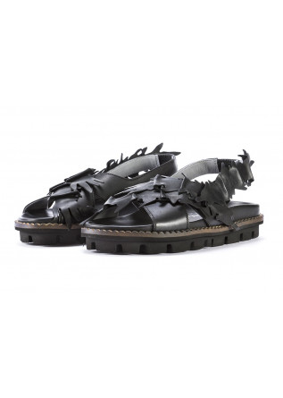 WOMEN'S SHOES SANDALS BLACK PATRIZIA BONFANTI
