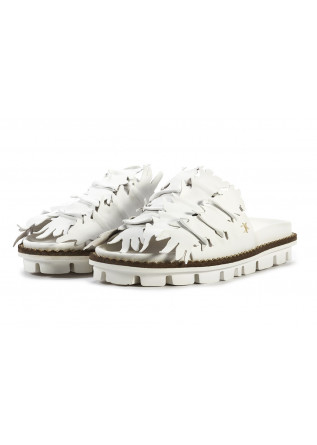WOMEN'S SHOES SANDALS WHITE PATRIZIA BONFANTI