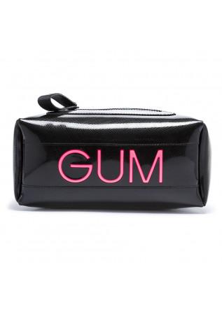 WOMEN'S BAGS BACKPACK PVC / LEATHER BLACK GUM CHIARINI