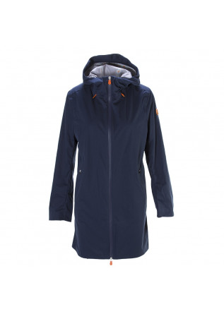 WOMEN'S CLOTHING JACKET WATERPROOF DARK BLUE SAVE THE DUCK
