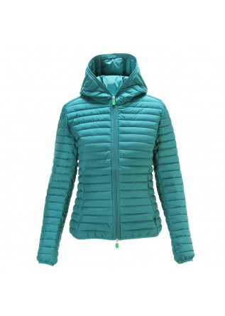 WOMEN'S CLOTHING JACKETS GREEN SAVE THE DUCK