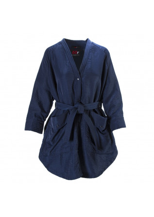 WOMEN'S CLOTHING JACKET DUSTER JACKET BLUE NIGHT OOF