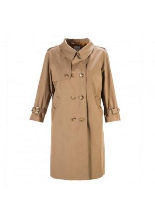 WOMEN'S CLOTHING TRENCH COAT COTTON BISCUIT BEIGE MERCI