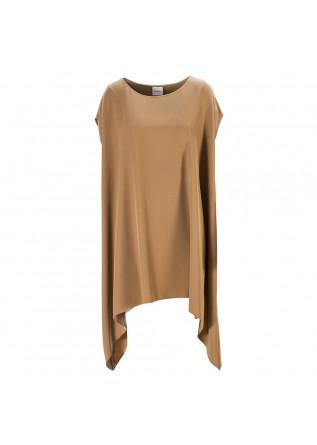 WOMEN'S CLOTHING DRESS OVERSIZE BISCUIT BROWN MERCI