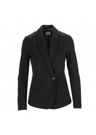 WOMEN'S CLOTHING JACKET BLAZER DOUBLE - BREASTED BLACK MERCI
