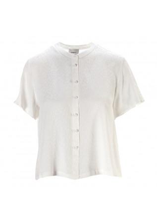 WOMEN'S CLOTHING SHIRT KOREAN COLLAR WHITE MERCI