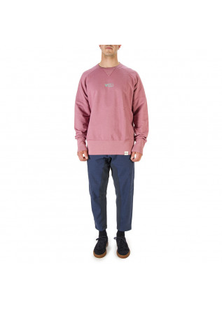 UNISEX CLOTHING SWEATSHIRT 100% ORGANIC COTTON WATERMELON PINK WRAD