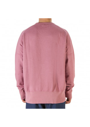 UNISEX CLOTHING SWEATSHIRT 100% ORGANIC COTTON WATERMELON PINK WRAD