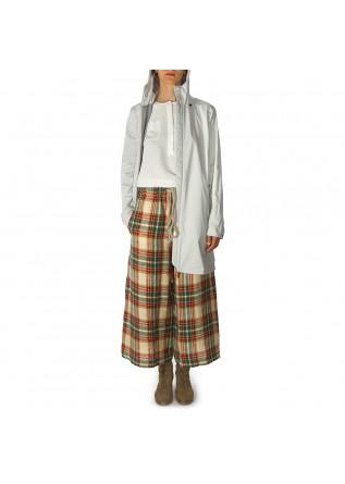 WOMEN'S CLOTHING SHIRT VISCOSE SILK 3/4 SLEEVES WHITE SEMICOUTURE