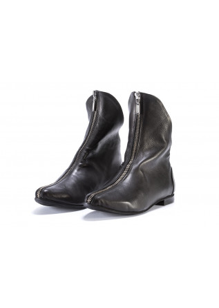 WOMEN'S SHOES BOOTS BLACK PAPUCEI