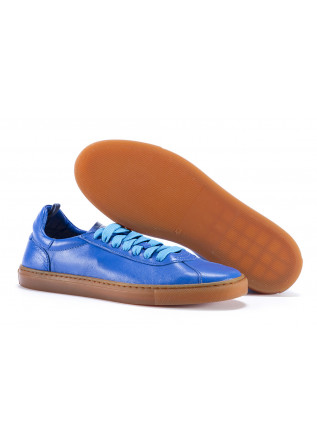 WOMEN'S SHOES SNEAKERS LEATHER BLUE MANOVIA 52
