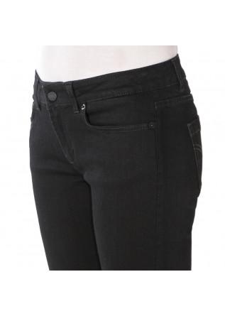 WOMEN'S CLOTHING JEANS 'MONROE' COTTON STRETCH BLACK DONDUP