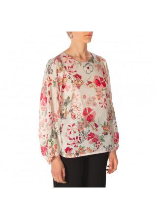 WOMEN'S CLOTHING SHIRT BEIGE RED PASTEL GREEN PHISIQUE DU ROLE