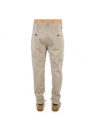 MEN'S CLOTHING PANTS 'GAUBERT' CHINO SAND BEIGE DONDUP
