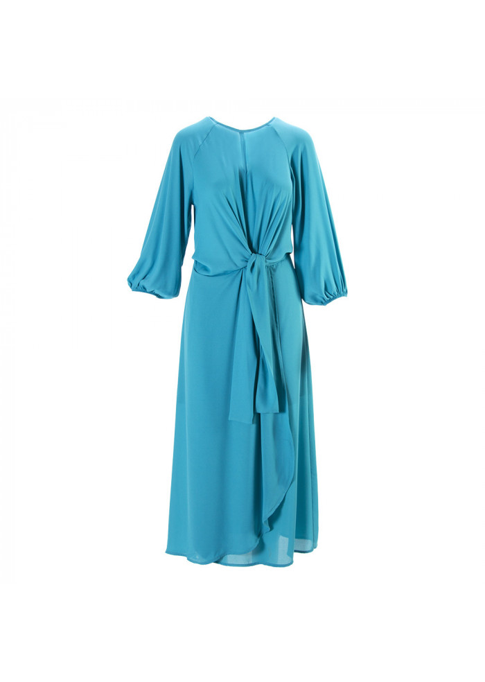 WOMEN'S CLOTHING DRESS MIDI TURQUOISE SOALLURE