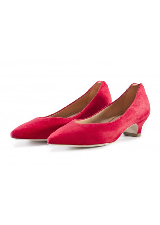 WOMEN'S SHOES HEEL SHOES SUEDE RED MARA BINI