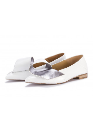 WOMEN'S SHOES FLAT SHOES WHITE POESIE VENEZIANE