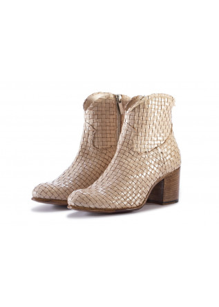 WOMEN'S SHOES BOOTS BEIGE PAKROS