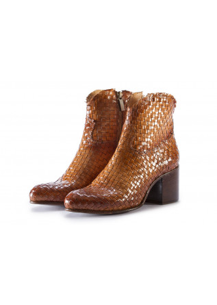 WOMEN'S SHOES BOOTS BROWN PAKROS