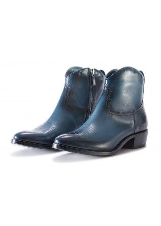 WOMEN'S SHOES BOOTS BLUE PAKROS