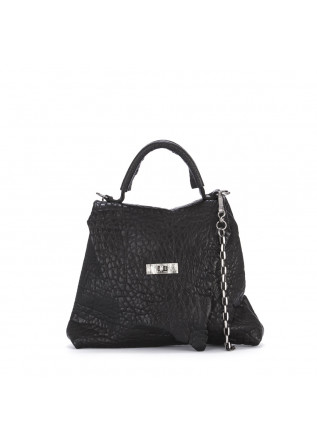 WOMEN'S BAGS HANDBAG SHOULDER BAG SHEEPSKIN BLACK UN TE DA MATTI