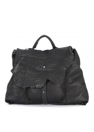 WOMEN'S BAGS HANDBAG SHOULDER BAG LEATHER BLACK UN TE DA MATTI