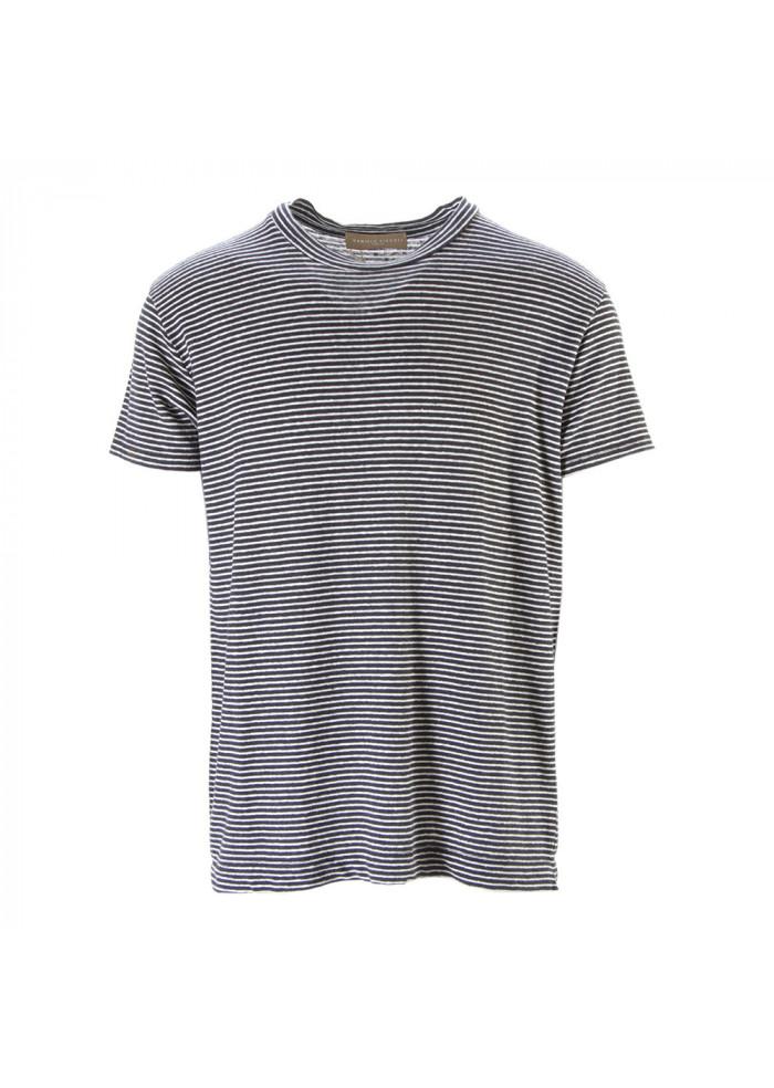 Abbigliamento Bianco Nero Daniele Uomo Shirt Lino Fiesoli Stretch T OPZTuwXik