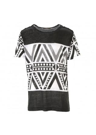 MEN'S CLOTHING T-SHIRTS BLACK DANIELE FIESOLI