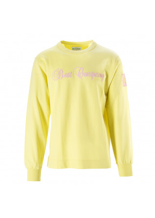 MEN'S CLOTHING SWEATSHIRT LIGHT COTTON YELLOW BEST COMPANY
