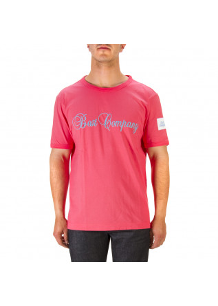 MEN'S CLOTHING T-SHIRT COTTON STRAWBERRY RED BEST COMPANY