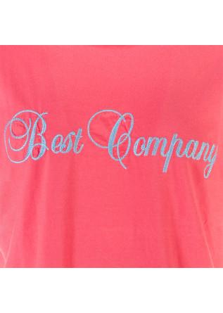 ABBIGLIAMENTO UOMO T-SHIRT IN COTONE ROSSO BEST COMPANY