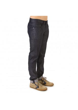 MEN'S CLOTHING JEANS 'GEORGE' STRETCH COTTON 5 POCKETS DARK BLUE DONDUP