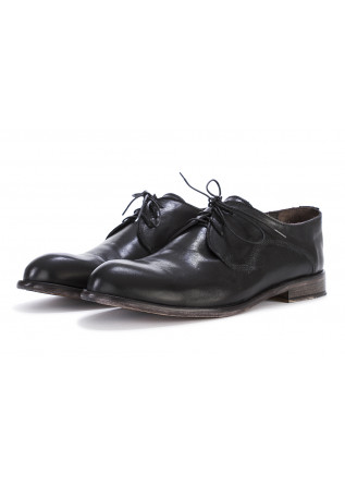 MEN'S SHOES LACE-UP FLAT SHOES LEATHER BLACK TON GOUT