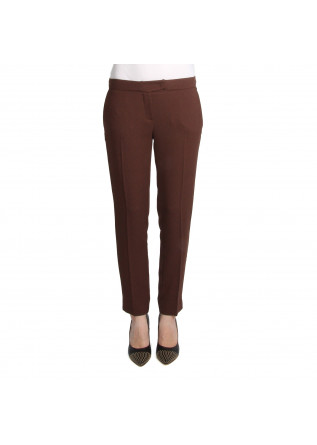 WOMEN'S CLOTHING TROUSERS BROWN SOALLURE