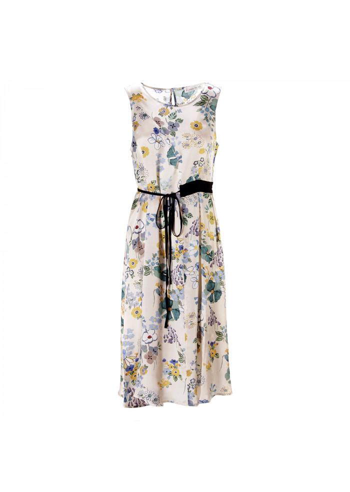 WOMEN'S CLOTHING DRESS BEIGE / LIGHT BLUE / GREEN / YELLOW PHISIQUE DU ROLE