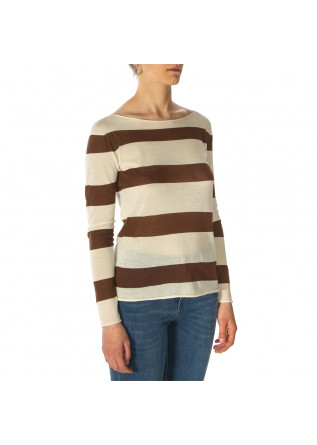 WOMEN'S CLOTHING SWEATER BEIGE / BROWN PHISIQUE DU ROLE