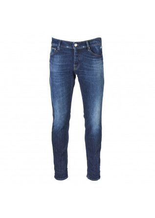 HERRENBEKLEIDUNG JEANS DENIM DUNKELBLAU CARE LABEL