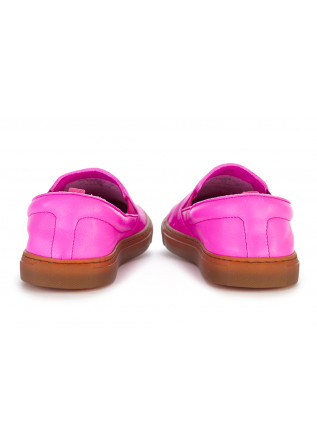 WOMEN'S SHOES FLAT SHOES / LOAFERS LEATHER FUCHSIA MANOVIA 52