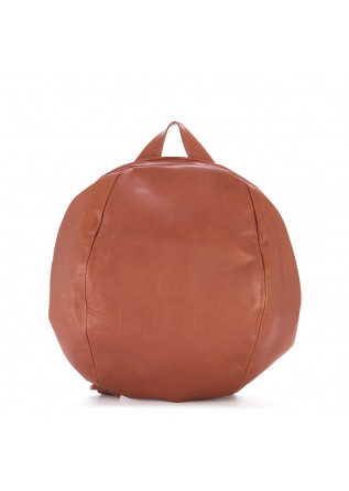WOMEN'S BAGS BACKPACK HAND DYED LEATHER TERRACOTTA BROWN JDK