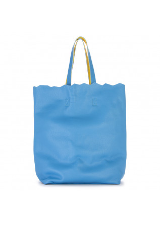WOMEN'S BAGS SHOULDER SHOPPER BAG LIGHT BLUE YELLOW JDK
