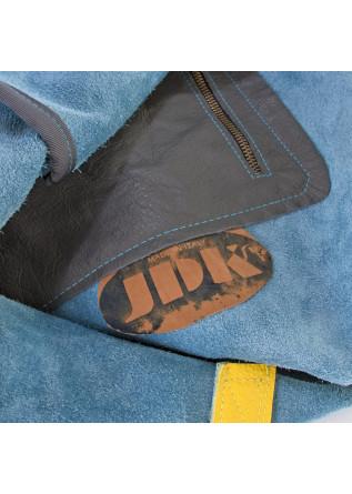 WOMEN'S BAGS SHOULDER SHOPPER BAG LIGHT BLUE YELLOW JDK