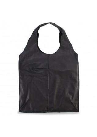 WOMEN'S BAGS SHOULDER BAG / SHOPPER HAND DYED LEATHER BLACK JDK