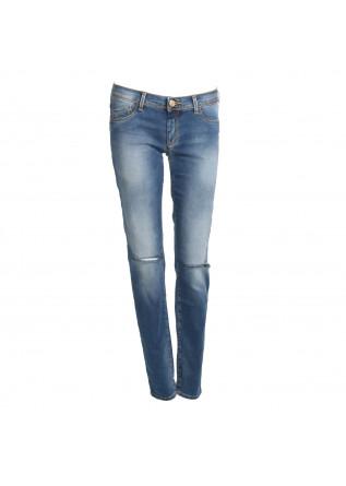 Pantalone Abbigliamento Donna Kocca Denim Blue