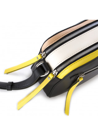 WOMEN'S BAGS SHOULDER BAG BLACK WHITE YELLOW PINK GIANNI CHIARINI
