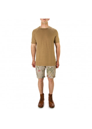 MEN'S CLOTHING SHORTS ELASTICIZED COTTON BEIGE MASON'S