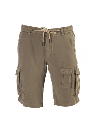 MEN'S CLOTHING SHORTS LYOCELL LIGHT BROWN MASON'S