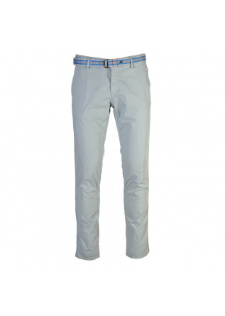 MEN'S CLOTHING TROUSERS CHINO ELASTICIZED COTTON LIGHT BLUE MASON'S