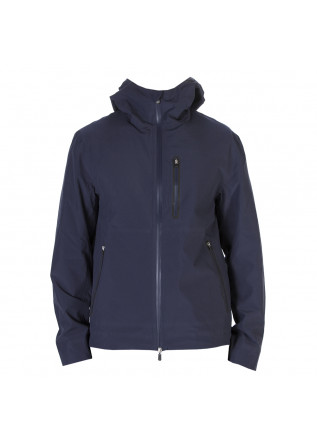 HERRENBEKLEIDUNG JACKE 100% RECYCELTER POLYESTER BLAU SAVE THE DUCK