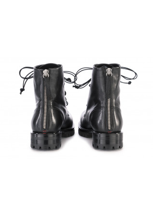 WOMEN'S SHOES BOOTS LEATHER BLACK HALMANERA